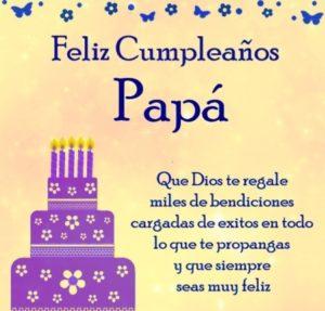 Felicitaciones De Cumpleaños Para Mi Papátop 2019