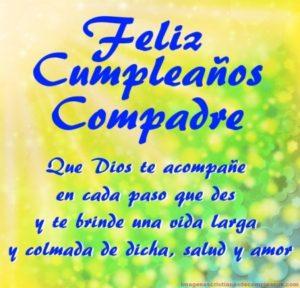 Frases De Felicitaciones De Cumpleaños Para Un Compadre2019