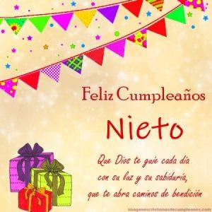 Frases De Felicitaciones De Cumpleaños Para Un Nieto2019