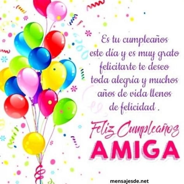 Felicitaciones De Cumpleaños Para Mi Mejor Amiga 2021